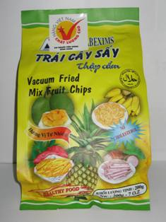 Vacuum Fried Mix Fruit Chips